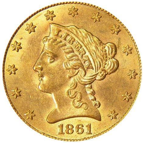 Liberty Eagle Gold Quarter